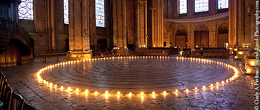 The Labyrinth At Chartres