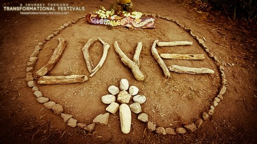 """LOVE"" at Water Woman Festival"
